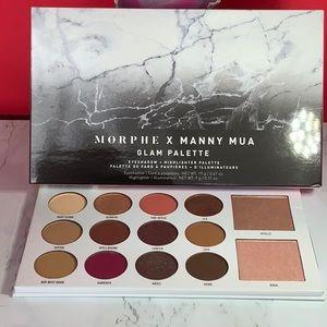 Morphe X Manny Mia Glam Palette